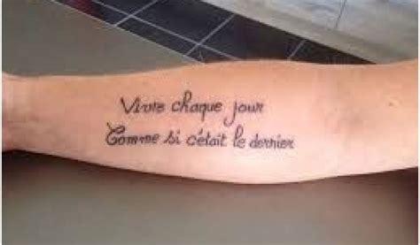 tatouage cuisse femme phrase francais resultat de