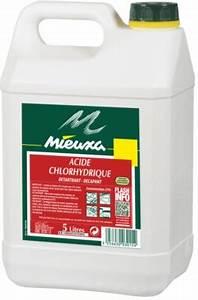 Déboucher Canalisation Acide Chlorhydrique : acide chlorhydrique mieuxa 23 5l ~ Medecine-chirurgie-esthetiques.com Avis de Voitures