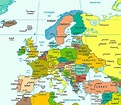 Europe Map / Map of Europe - Facts, Geography, History of ...