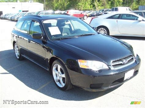 subaru legacy black 2006 subaru legacy 2 5i limited wagon in obsidian black
