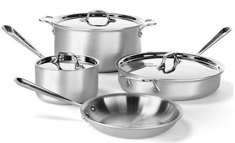 piece  clad professional cookware set   reg   shipping