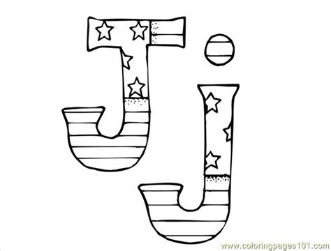 Coloring Pages J (education> Alphabets)