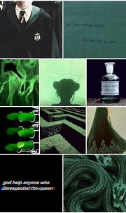 Pin on Slytherin Aesthetic