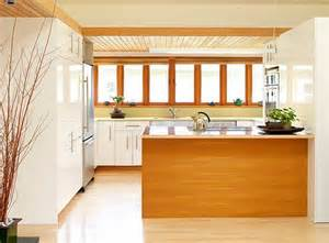 white kitchen wood island 10 wood types for your interior design