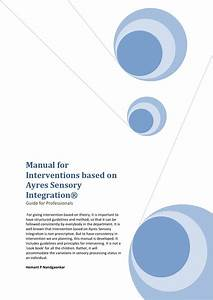 Manual For Interventions Based On Ayres Sensory