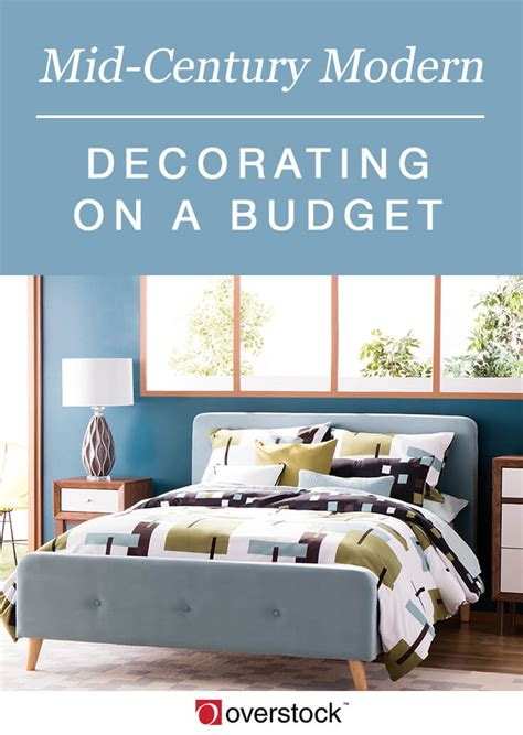 modern decor on a budget breaking get the scoop on mid century style for any budget overstock com
