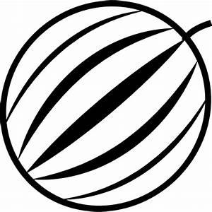 melon Flat Black Icon