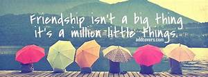 FRIENDSHIP QUOTES COVER PHOTOS FOR FACEBOOK TIMELINE image ...
