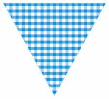 baby blue bunting printable pattern templates