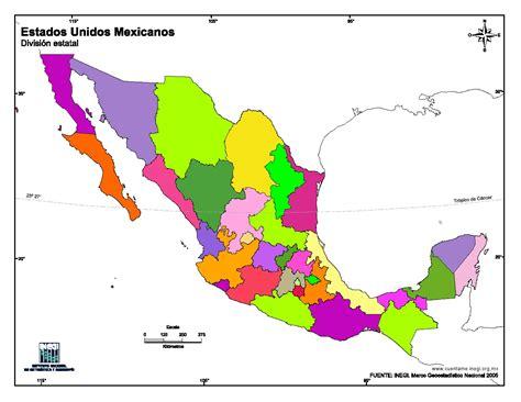 mapa para imprimir de m 233 xico mapa mudo en color de estados