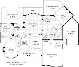 house plans with daylight basement drewnoport 7395 4 bedrooms and 4 baths the house designers