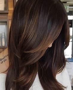 Braune Haare Mit Highlights : pin by shannon dunn on hairy dunkelbraune haare braune haare braune haare mit highlights ~ Frokenaadalensverden.com Haus und Dekorationen