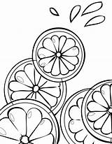 Coloring Fruit Pages Lemonade Printable Stand Lime Fruits Citrus Cranberry Summer Easy Drawing Bestcoloringpagesforkids Template Pattern Getcolorings Sheets Citris Sheet sketch template
