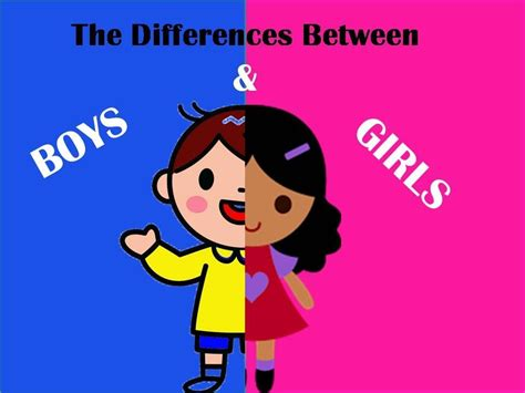 children speak about the differences between boys and 784 | maxresdefault