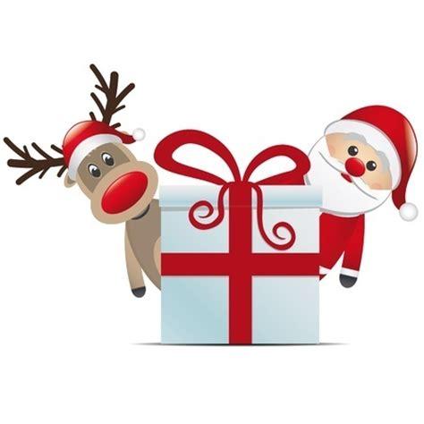 reideer and father christmas template for windows ho ho ho sweet mum
