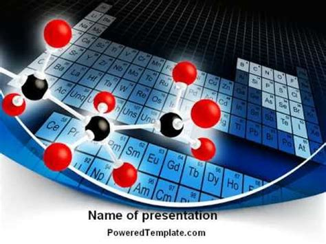 Powerpoint Templates Chemistry Free