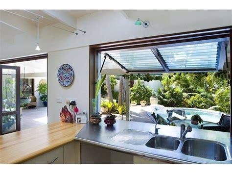 servery window idea tiny house kitchen indoor outdoor