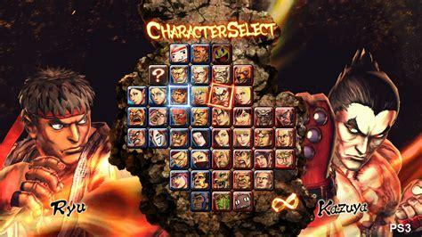 Street Fighter X Tekken Tfg Review Artwork Gallery