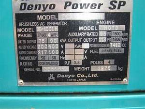 Used Denyo 90kva Other Generators For Sale
