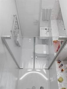 idee salle de bain petit espace kirafes With idee salle de bain 4m2