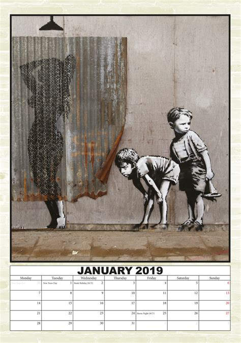 banksy calendars ukpostersukposters