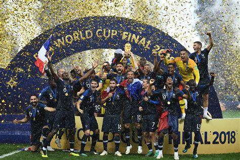 coupe du monde  la france est championne du monde