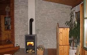 Wand Mit Steinoptik : schwedenofen wand steinoptik lajas gris wandverkleidung ~ Watch28wear.com Haus und Dekorationen
