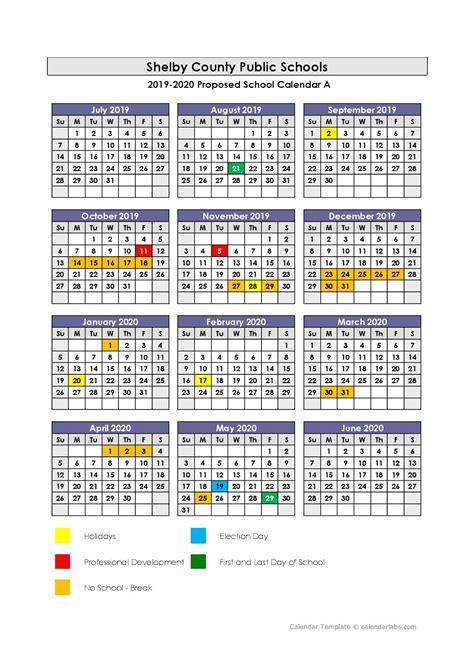 shelby county public schools calendar publicholidaysus