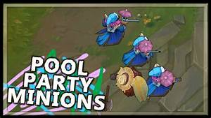 Pool Party Minions - League of Legends - YouTube