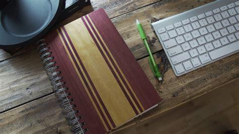 diy wooden notebook youtube