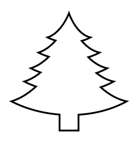 bastelvorlagen für kinder simple vorlage f 252 r weihnachtsabaum zum selbermachen kinder aktivit 228 ten