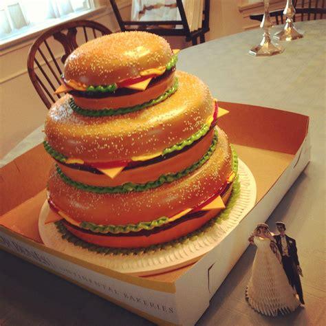 Related Keywords & Suggestions For Hamburger Wedding Cake