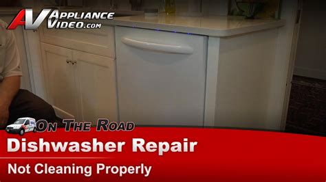 kitchenaid whirlpool dishwasher repair  cleaning