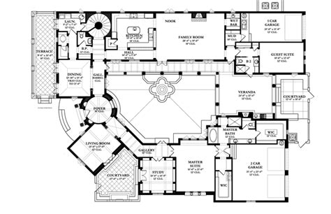 spanish colonial revival house plans style house plans