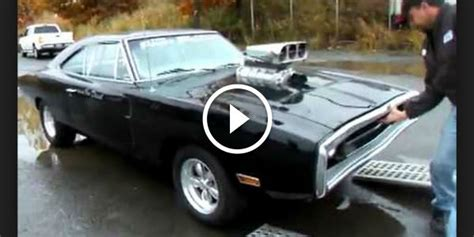 dominic toretto dodge charger  fast  furious