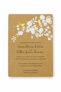 print at home invitation kit gold foil birds gartner With make your own wedding invitations walmart