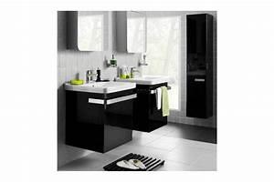 Meuble Vasque 60 : meuble de salle de bain suspendu perfect day 600 ~ Teatrodelosmanantiales.com Idées de Décoration