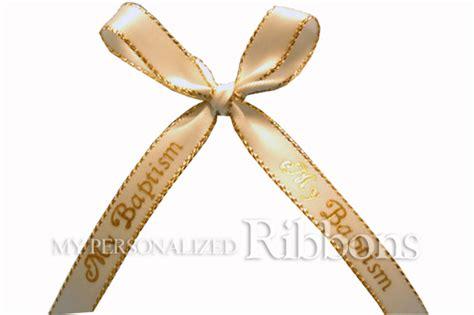 baptism ribbon