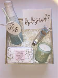 wedding gift box ideas 15 will you be my bridesmaid ideas