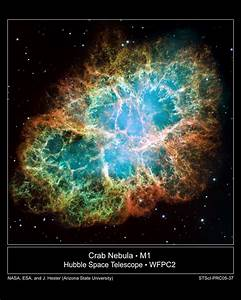 APOD: 2008 February 17 - M1: The Crab Nebula from Hubble