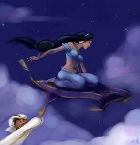 Jasmine&Aladdin ♥ - Disney Princess Photo (28966318) - Fanpop