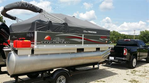 Used Tracker Pontoon Boats by Sun Tracker Pontoon 16 Dlx Boat For Sale From Usa