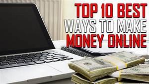 Top 10 Best Ways to Make Money Online - YouTube