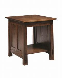 Country Shaker End Table - Gish's Amish Legacies