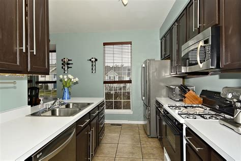 white galley kitchen ideas 29 charming compact kitchen designs designing idea 1306