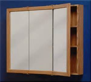 zenith 24 quot oak tri view medicine cabinet at menards 174