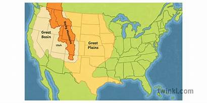 Plains Map America North History State Secondary