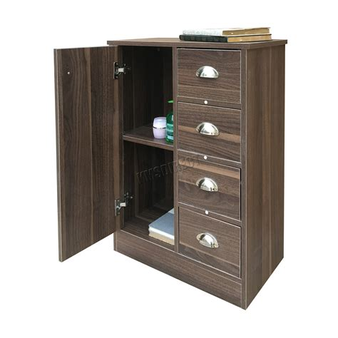 bathroom storage cabinets with drawers foxhunter 4 drawer 2 shelves bathroom storage cupboard 11719