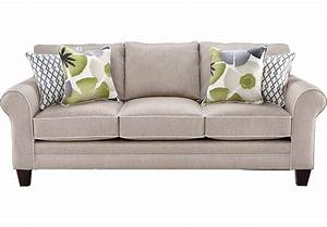 Lilith Pond Taupe Sofa - Sofas (Beige)