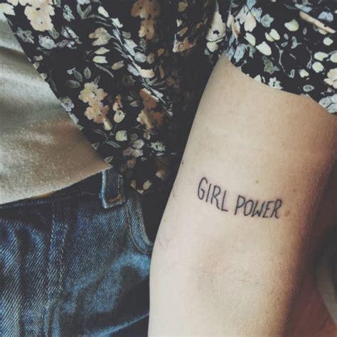 20 girl power tattoos OnPoint Tattoos